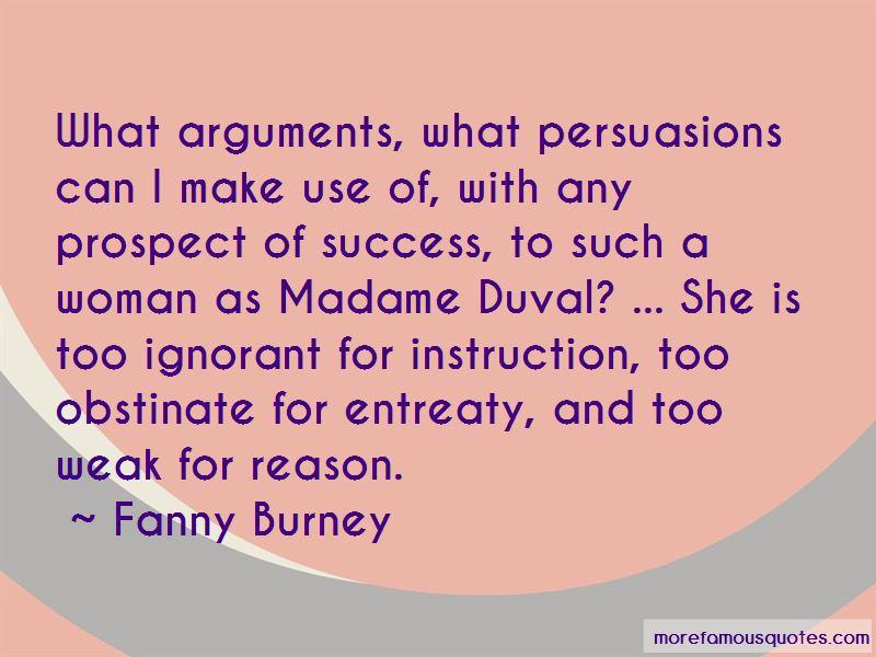 Madame Duval Quotes