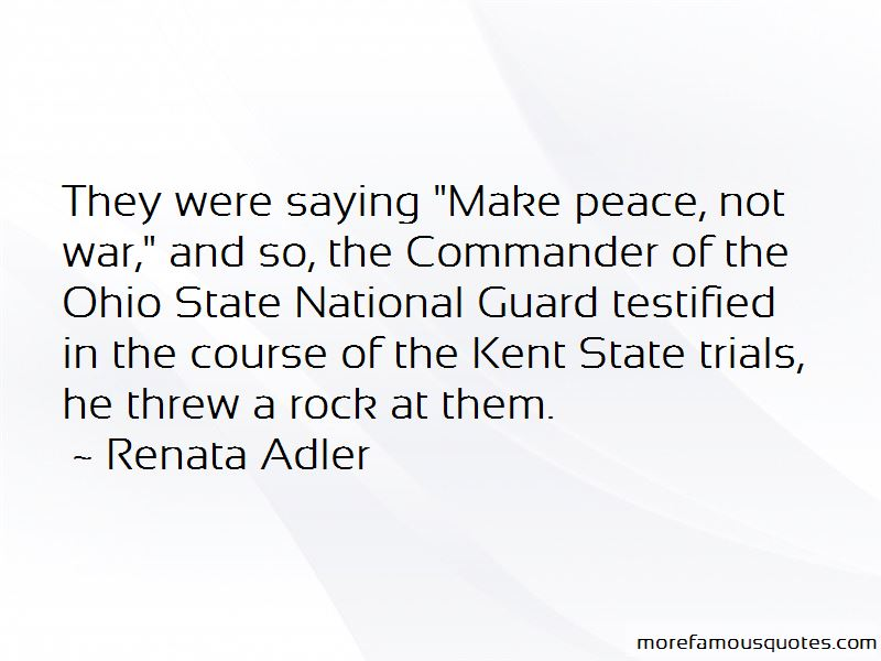 Make Peace Not War Quotes