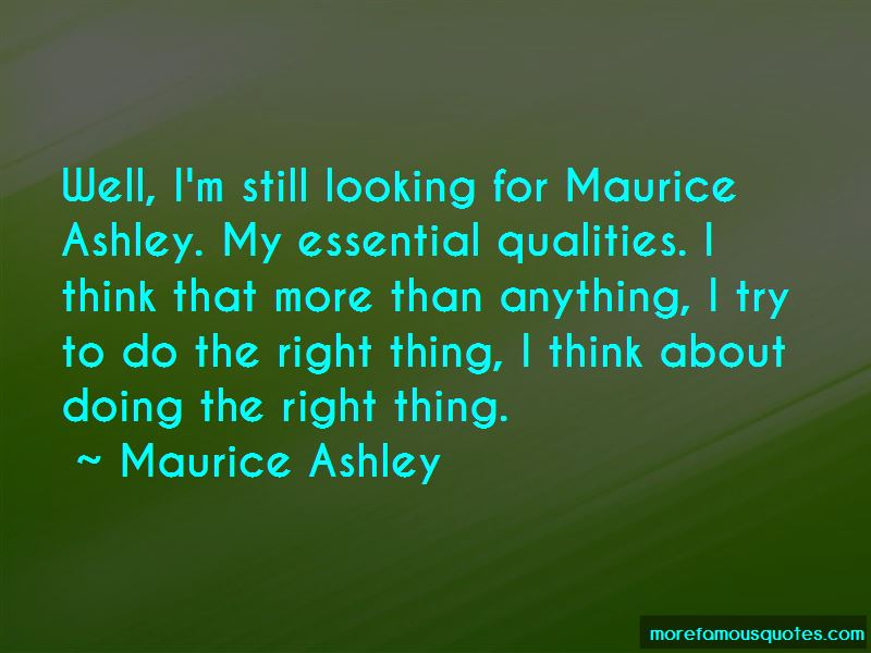 Maurice Quotes Pictures 3