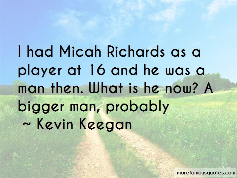 Micah Richards Quotes