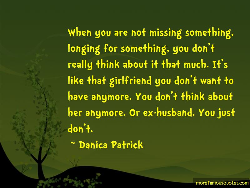 Missing His Girlfriend Quotes