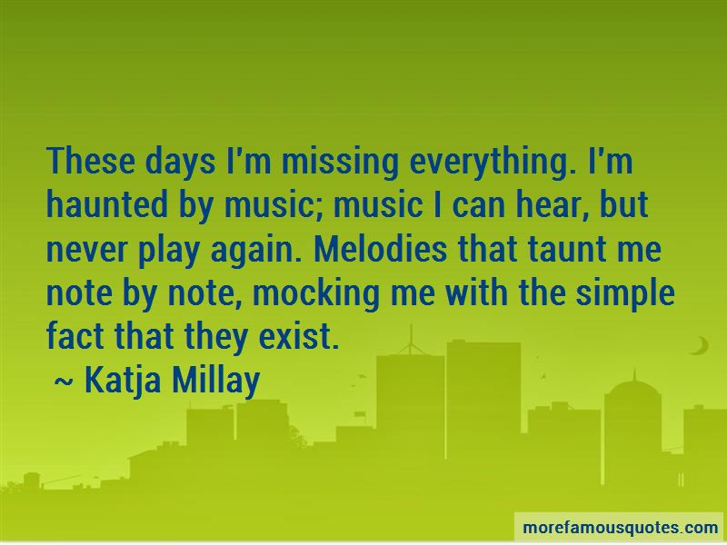 Missing These Days Quotes Pictures 3