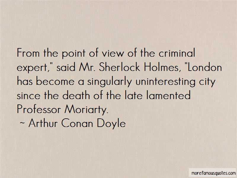 Moriarty Sherlock Holmes 2 Quotes: top 4 quotes about