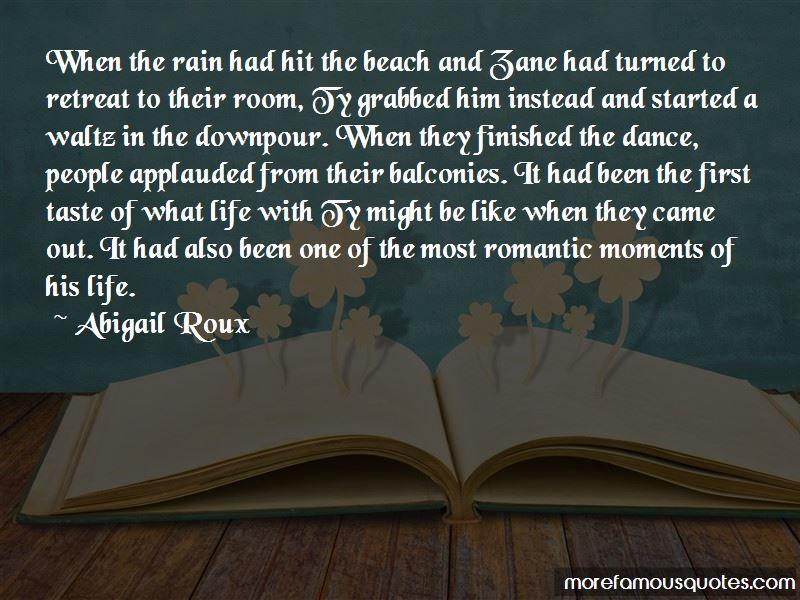 Most Romantic Rain Quotes