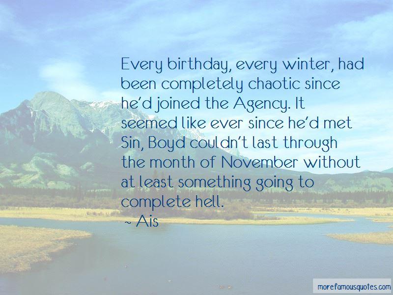 November 1 Birthday Quotes