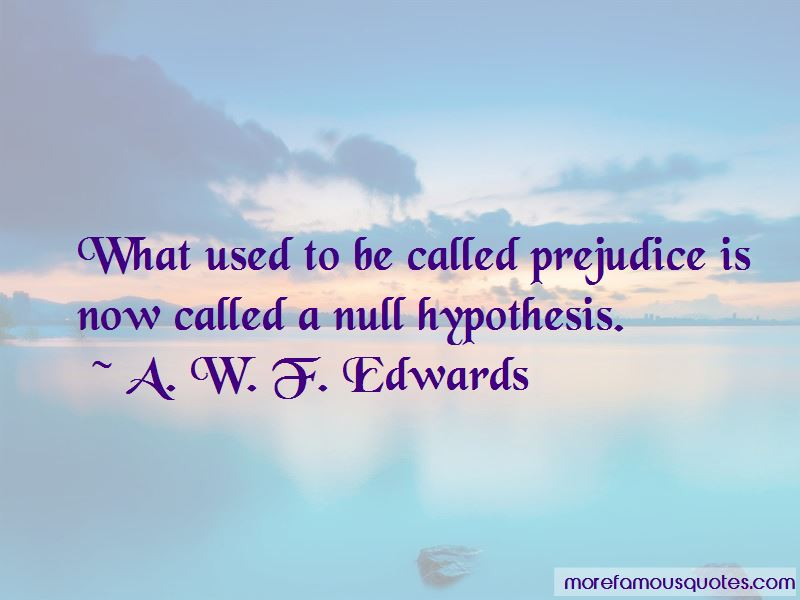 Null Hypothesis Quotes