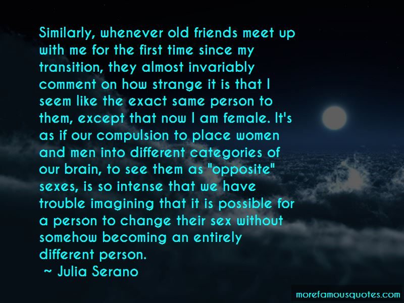 Old Friends Meet Up Quotes