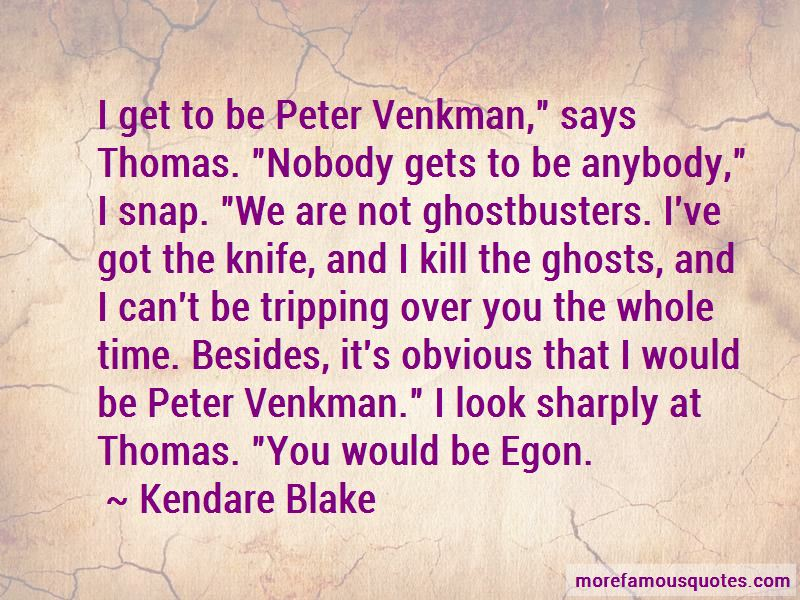 Peter Venkman Ghostbusters 2 Quotes