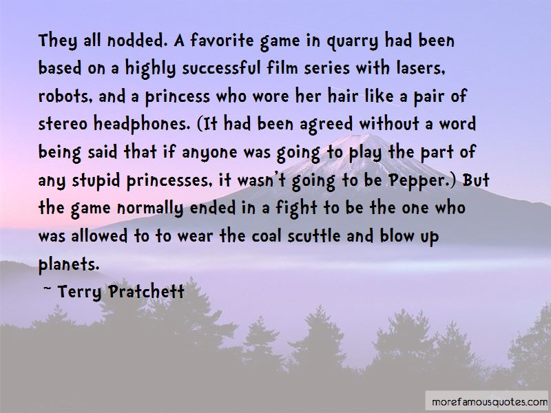 Play The Game Film Quotes