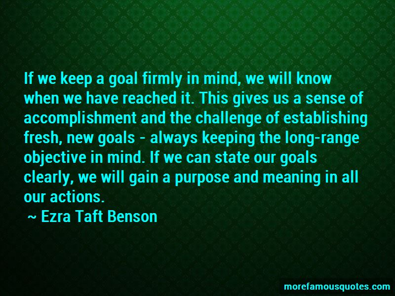 Quotes About Accomplishment And Goals