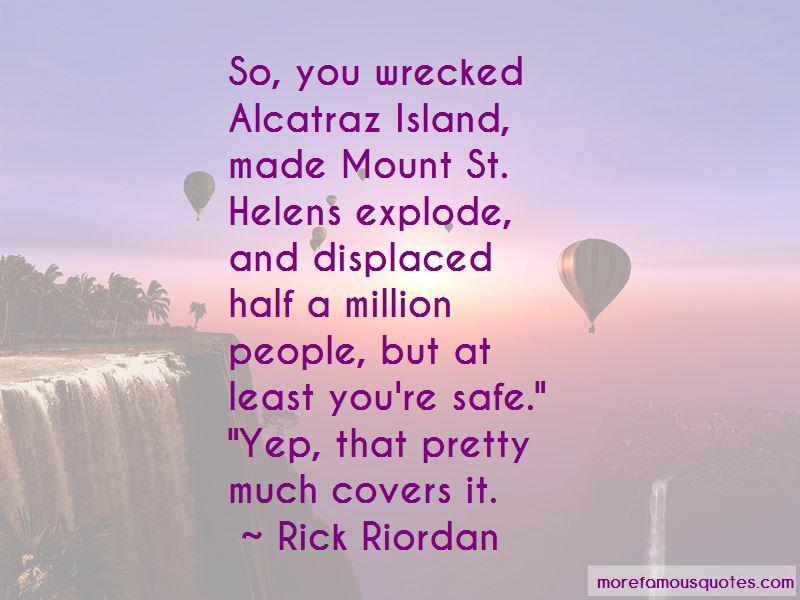 Quotes About Alcatraz Island