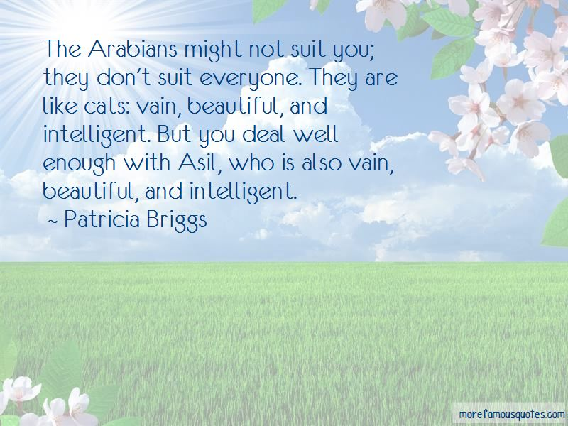 Quotes About Arabians