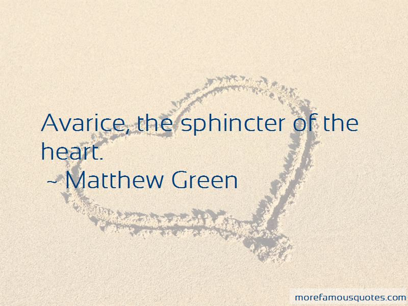 Quotes About Avarice