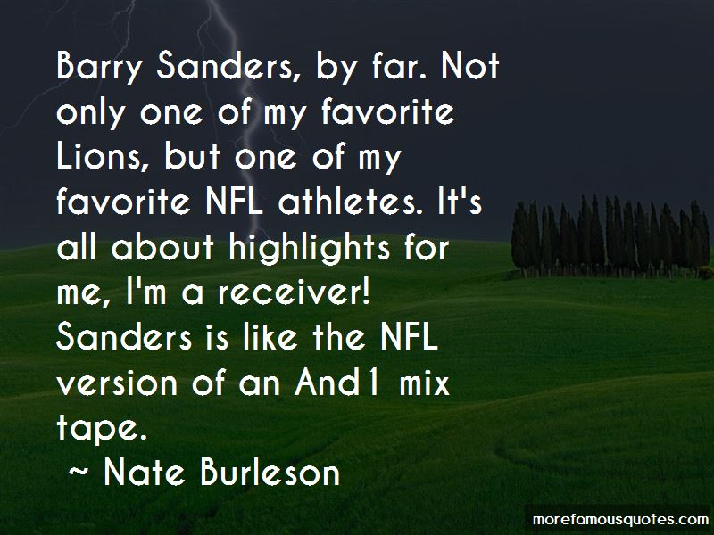a research on the life and career of barry sanders Barry sanders was born july 16th, 1968 in wichita, kansas he grew up in a family being one of eleven other children when barry was a kid he was considered to be too short to play football well at the college level.