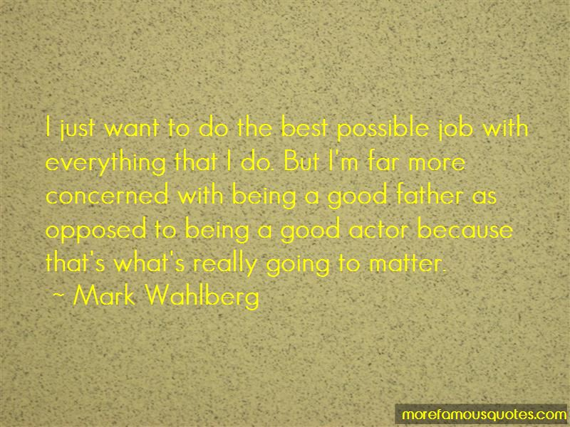 Quotes About Being A Good Father