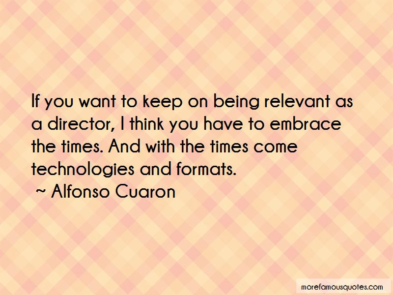 Quotes About Being Relevant