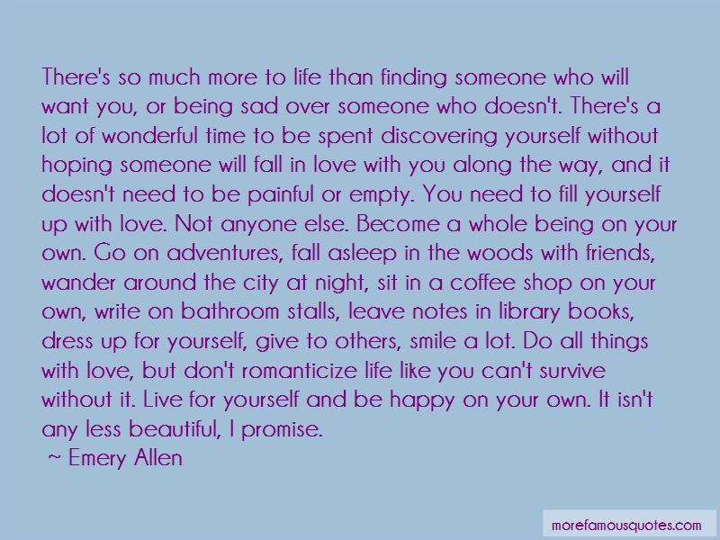 Being Yourself And Being Happy Quotes Pictures 4