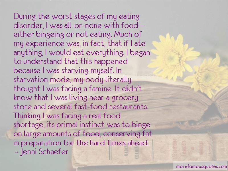 Quotes About Binge Eating Disorder