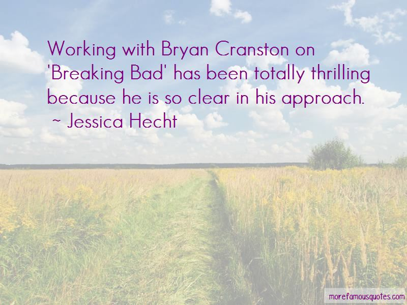 Quotes About Bryan Cranston