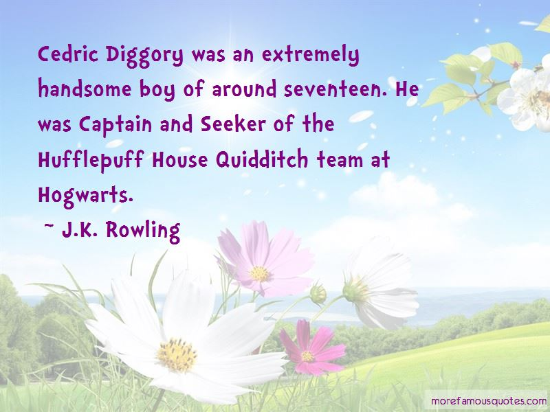 Cedric Diggory Quotes Pictures 3