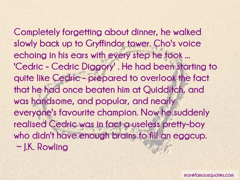 Cedric Diggory Quotes Pictures 4
