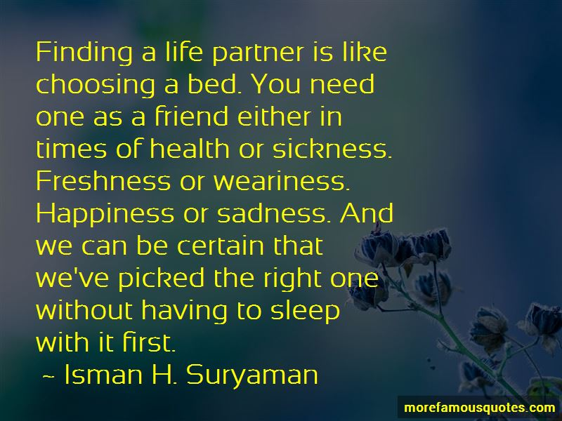 Quotes About Choosing Life Partner