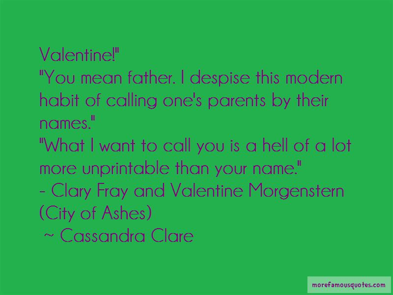 Quotes About City Of Ashes