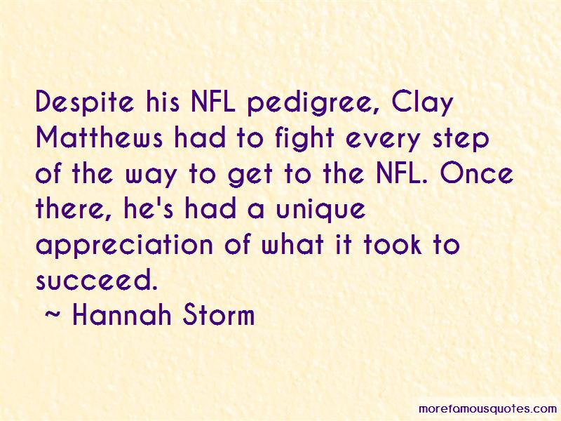 Quotes About Clay Matthews