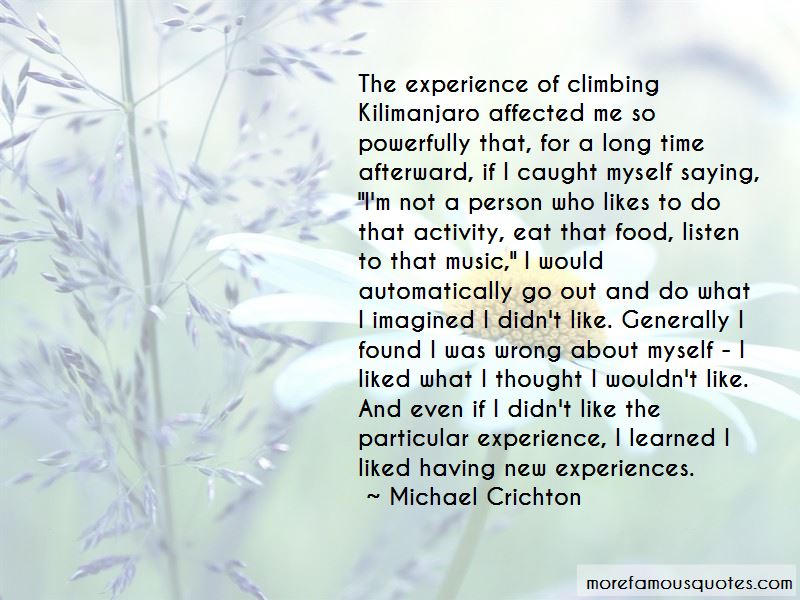 Climbing Mt. Kilimanjaro Quotes Pictures 2