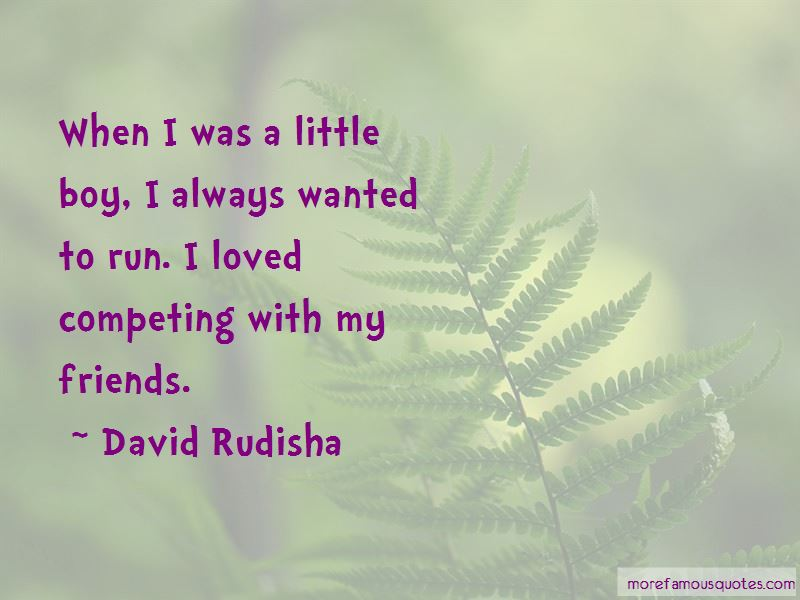 Quotes About Competing With Friends