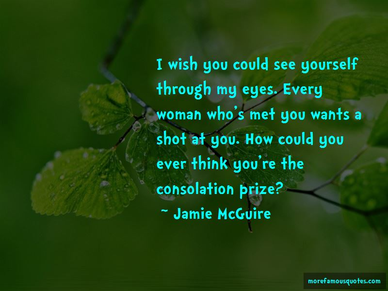 Quotes About Consolation Prize