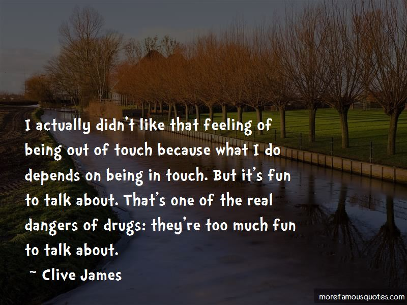 Quotes About Dangers Of Drugs