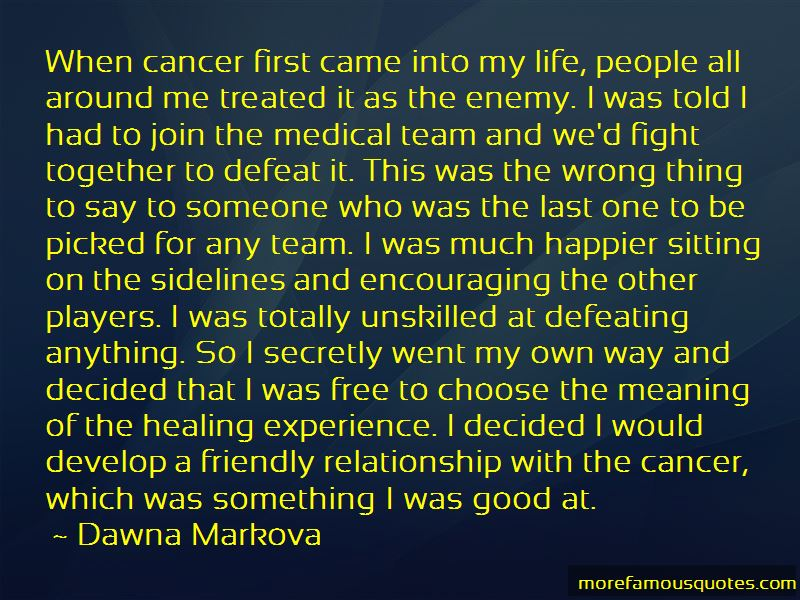 Quotes About Defeating Cancer