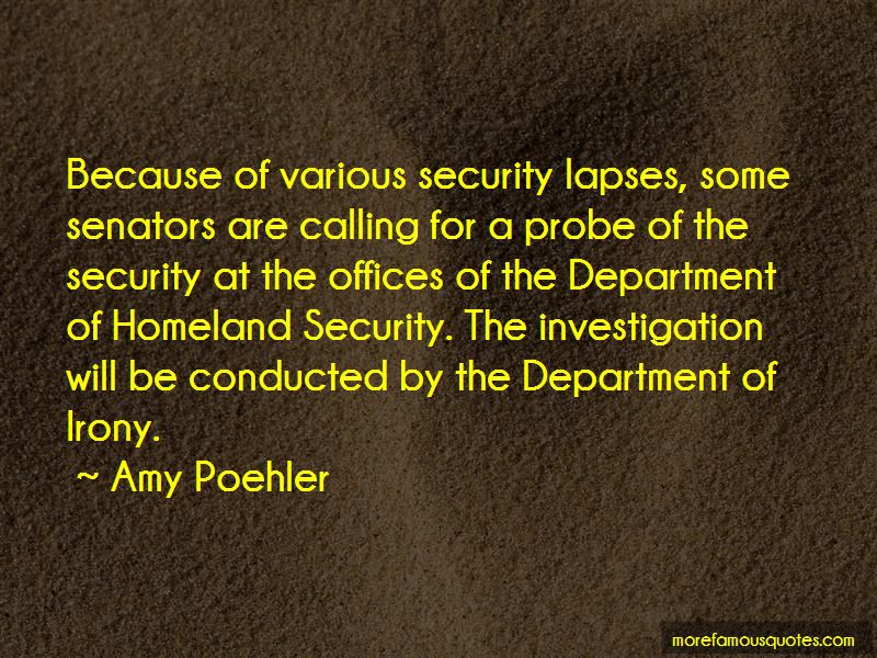 Department Of Homeland Security Quotes Pictures 2