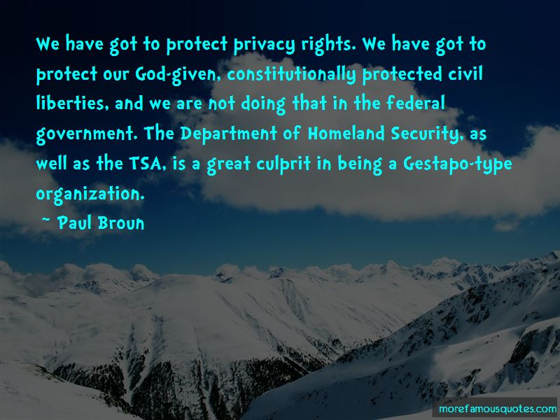 Department Of Homeland Security Quotes Pictures 3