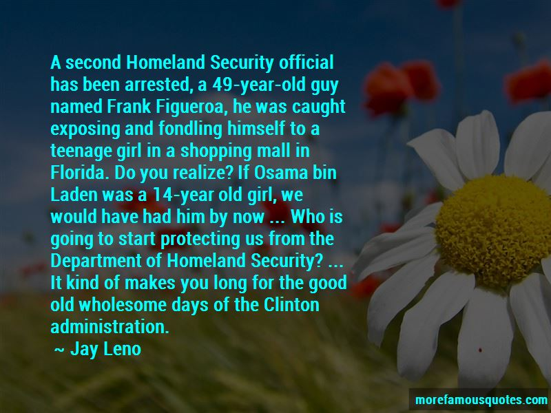 Department Of Homeland Security Quotes Pictures 4