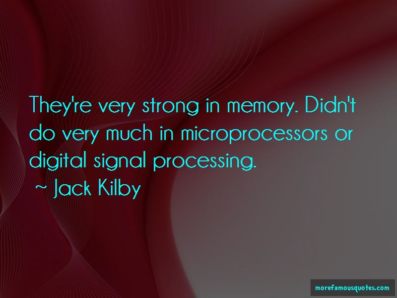 Quotes About Digital Signal Processing