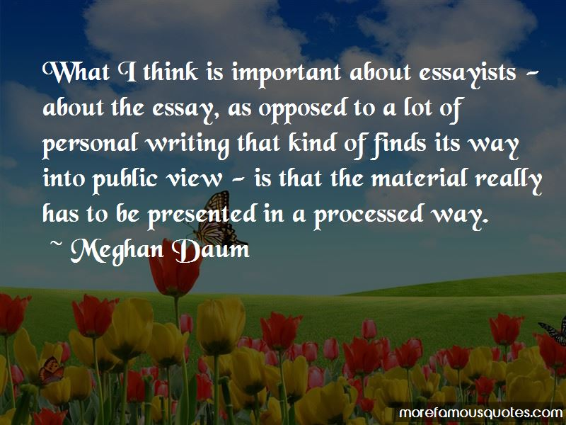 Quotes About Essayists