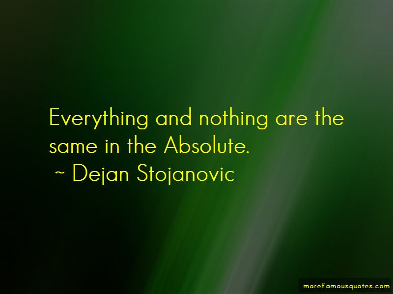 Everything And Nothing Quotes Pictures 3