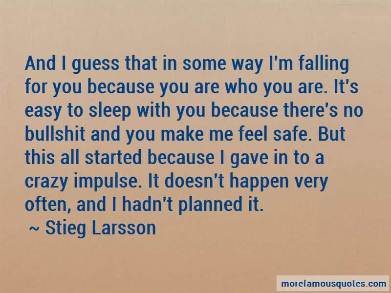 Quotes About Falling For You