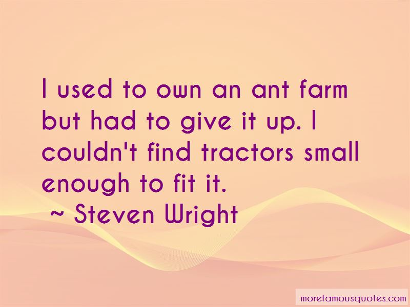 Quotes About Farm Tractors