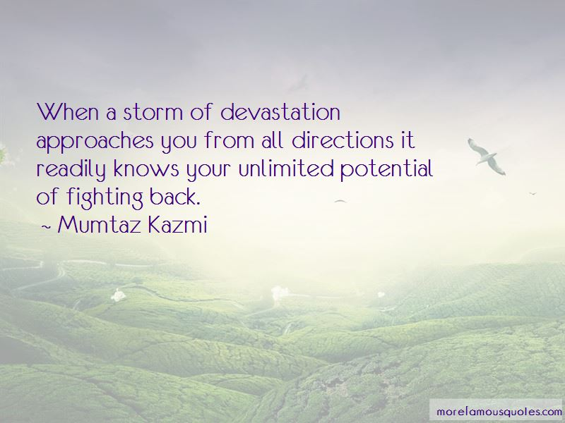Fighting The Storm Quotes Pictures 4
