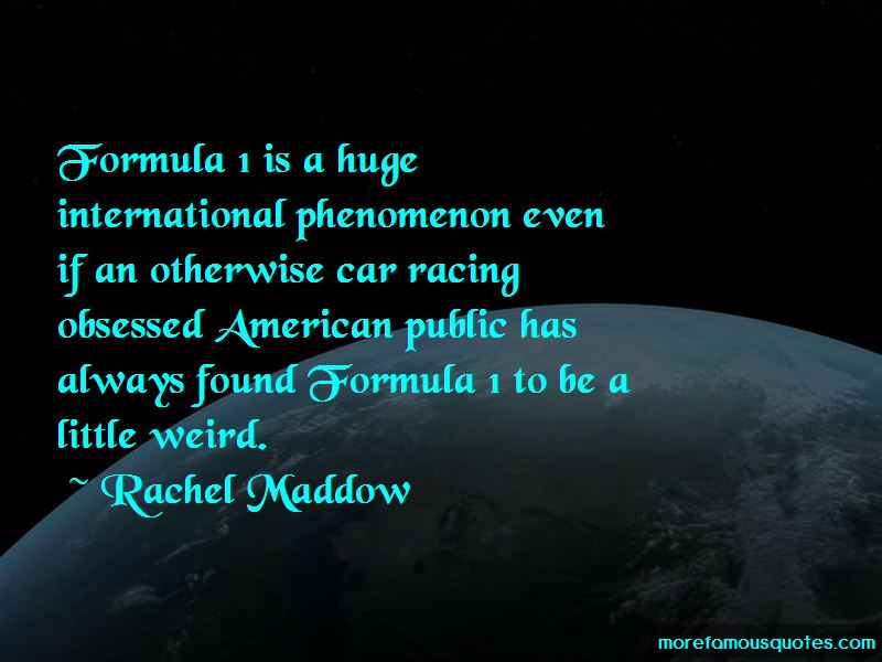 Quotes About Formula 1
