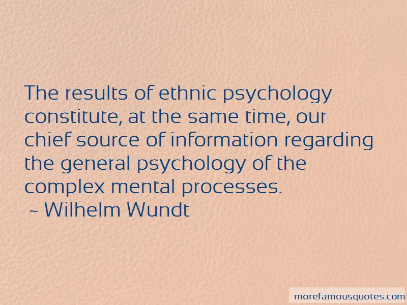 Quotes About General Psychology