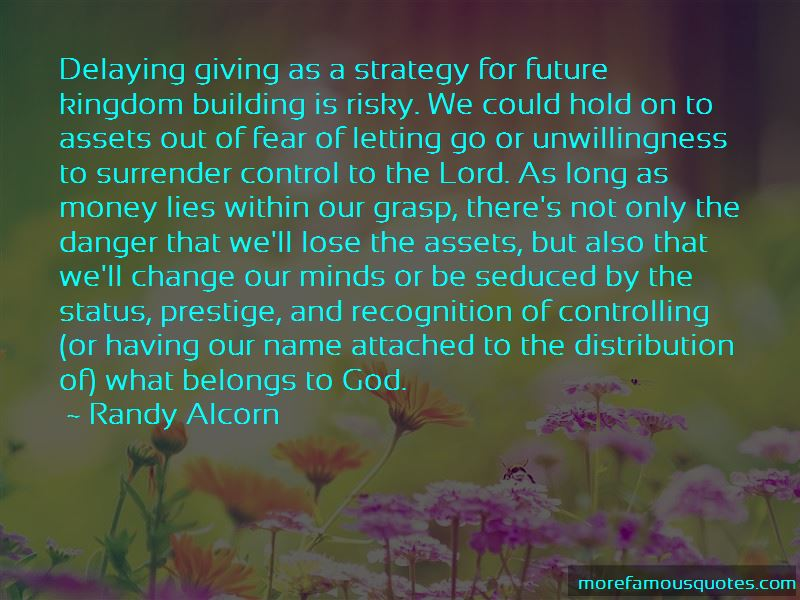 Quotes About Giving Control To God