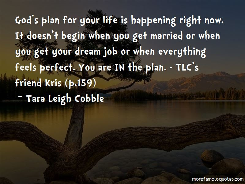 Quotes About God's Plan For Your Life