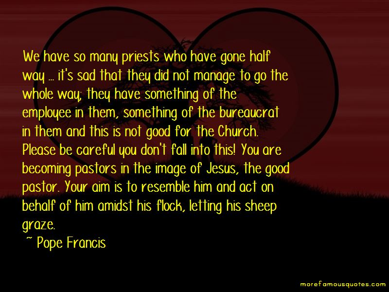 Quotes About Good Pastors