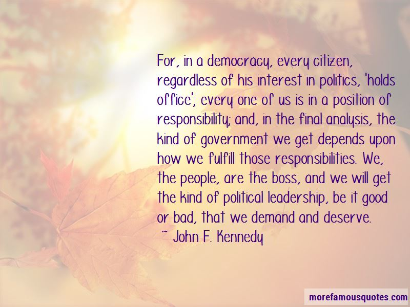 Good Political Leadership Quotes Pictures 2