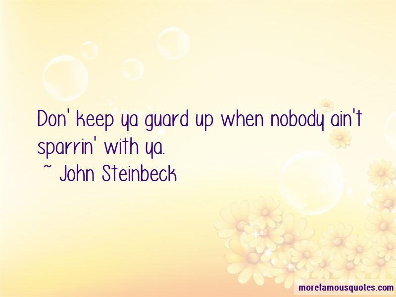 Guard Up Quotes Pictures 2