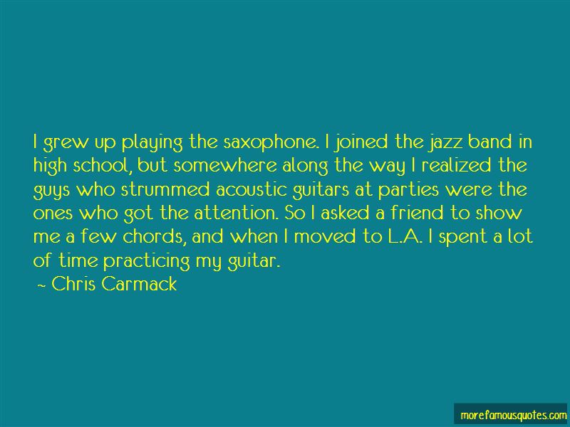 Quotes About Guys Playing Guitar